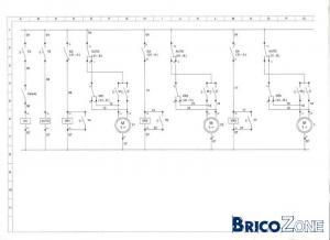 schema automatisation de volet roulant electrique