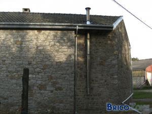 longueur du tubage sur le toit