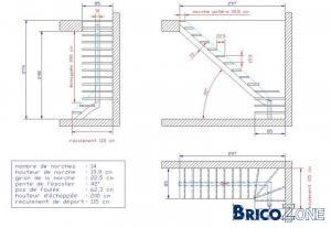 escalier Programme ou m�thode de construction