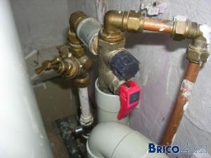 Fuite raccordement chauffe eau