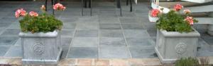 choix pierre bleue pour terrasse extérieure