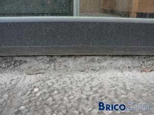 Probl�me pont thermique nouvelle baie vitr�e
