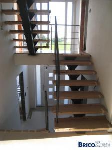 Escalier en inox - metal