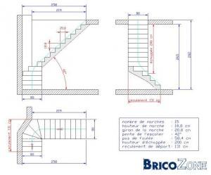 comment dessiner des escaliers sur un plan. Black Bedroom Furniture Sets. Home Design Ideas