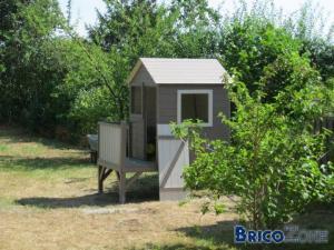 Construction d'1 cabane pour enfant