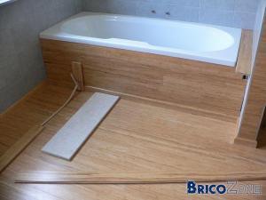 qui a mis du bambou dans sa salle de bains? - Sol Bambou Salle De Bain