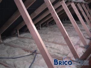 Quelle isolation utilis pour le grenier - Plafond non utilise pour les revenus c est quoi ...