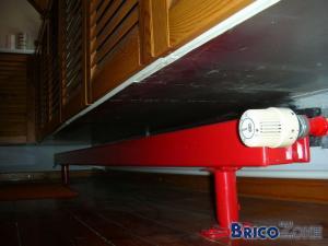 Dilème, pas de place pour un radiateur.