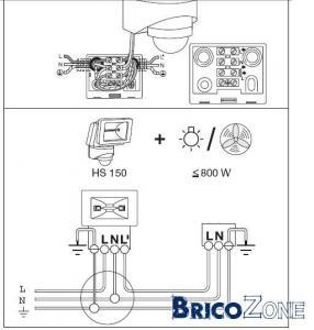 Comment connecter ce spot for Branchement eclairage exterieur en serie