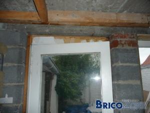 Abattement mur de facade & renforcement linteau