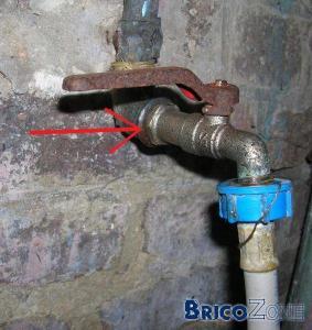 problème avec un tuyau en cuivre