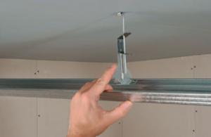 quelle fixation pour faire un faux plafond (suspendu) sur charpente existante ?