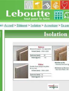 cloison acoustique panterre vs pavacoustic. Black Bedroom Furniture Sets. Home Design Ideas