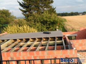 Charge sur un toit plat for Construire toit terrasse