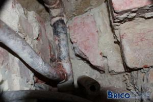 Conseil d�montage ancienne tuyauterie gaz