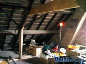 Rénovation grenier en chambre