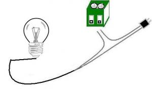 Connecter appareil électrique sur sortie relais