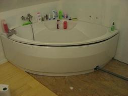 """Ensemble carrelé """"douche-baignoire"""" - Aide à la conception"""