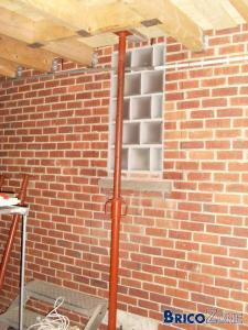 Percer mur porteur garage -> maison