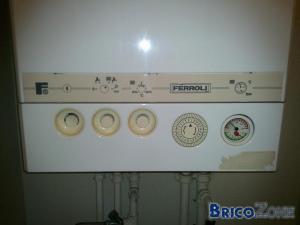 Probl�me eau chaude chaudi�re Ferroli