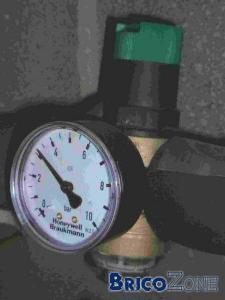 Pression d'eau - Erreur de mesure ?