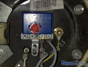 raccordement boiler
