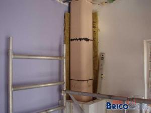 Tubage ou boisseau en nouvelle construction