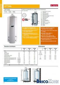 a vendre boiler gaz 110l