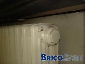 Purger radiateurs en fonte