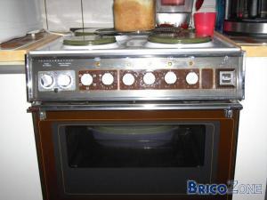 Recherche mode d'emploie cuisinière elctrique