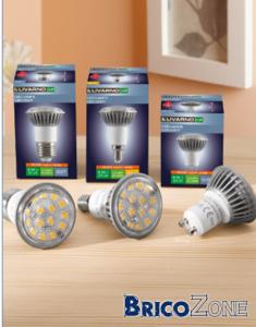 Ampoules LED chez Lidl