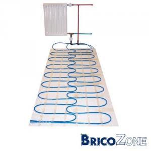utilisation d'un retour de radiateur pour chauffer le sol