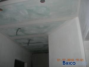 faux-plafond dans cuisine