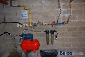 Circuits d'eau de pluie et d'eau de ville mélangés