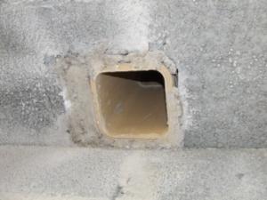 Probl�me de condensation chemin�e neuve