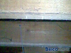 condensation sous une plate forme en derbigum