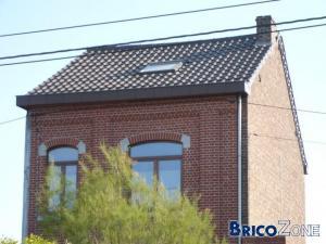 Modification chemin�e sur le toit