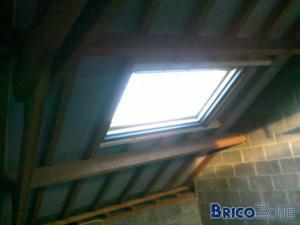 Isolation toiture Laine de verre + Styro