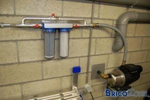 Filtration eau de pluie : besoin d'avis