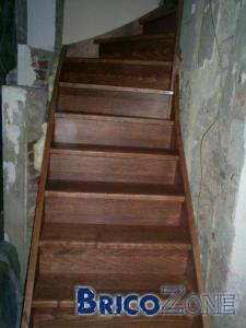 teinter mon escalier en h�tre