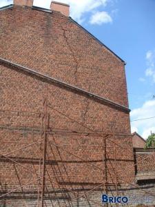Fissure importante dans un mur de fa ade que faire - Reparer fissure mur interieur ...