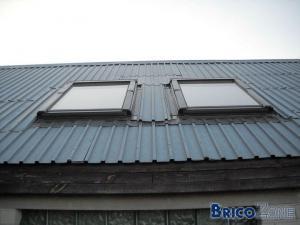 fenetres de toits de marque Velux ou autre