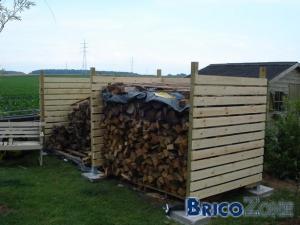 Photos d'abris à bois