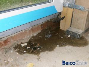 Infiltration d'eau chassis ou battée ... ?