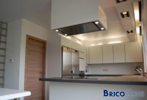 Eclairage cuisine for Eclairage faux plafond cuisine