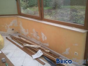 Prob avec mur humide que faire comme finition dans mon cas - Mur interieur humide que faire ...