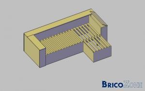 Fabriquer un canap si possible lit gigogne - Fabriquer un canape d angle ...