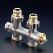 Tuyaux mitigeur thermostatique eau chaude a gauche radiateur - Demonter robinet thermostatique radiateur ...