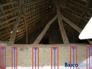 Comment étançonner une toiture?