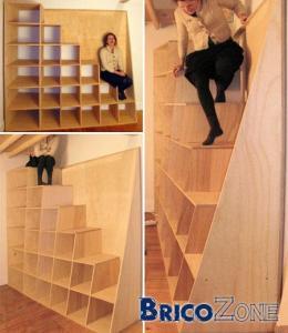 mise en oeuvre d 39 un escalier id e. Black Bedroom Furniture Sets. Home Design Ideas